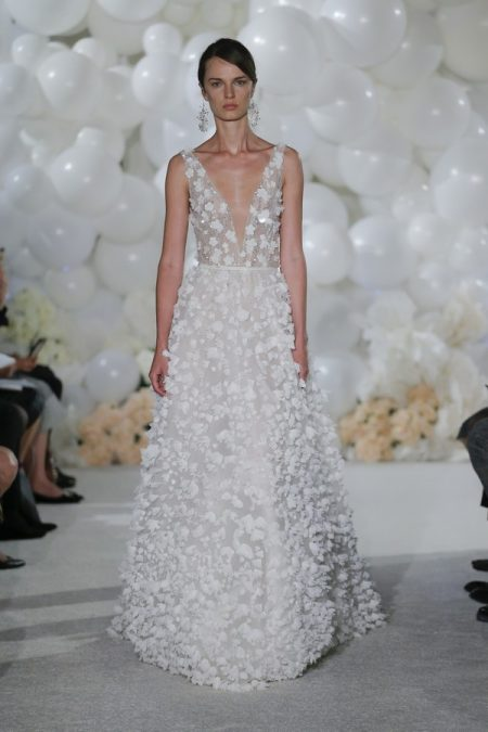 Coco Wedding Dress from the Mira Zwillinger Over the Rainbow 2018 Bridal Collection