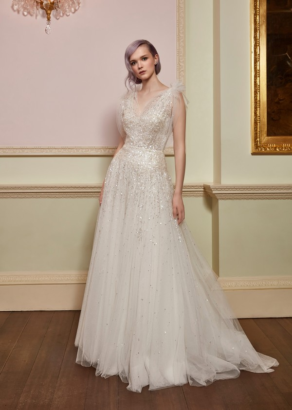 Cosmic Wedding Dress from the Jenny Packham 2018 Bridal Collection