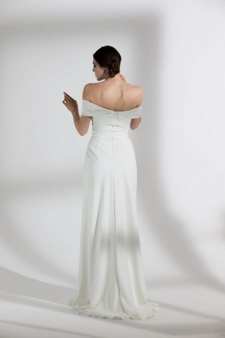 Back of Daffodil Wedding Dress from the Halfpenny London The Garden After the Rain 2018 Bridal Collection