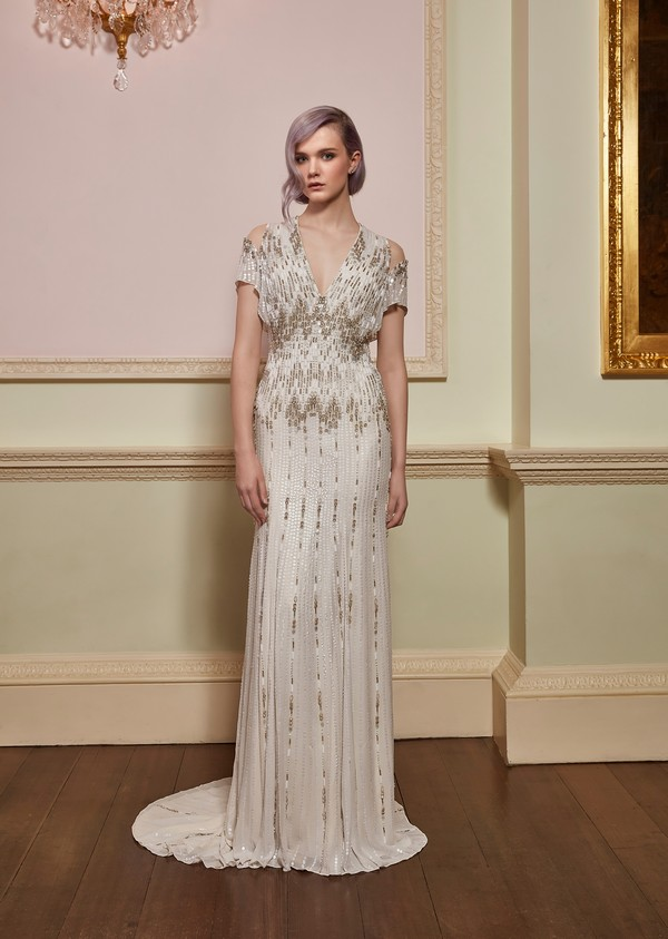Dare Wedding Dress from the Jenny Packham 2018 Bridal Collection