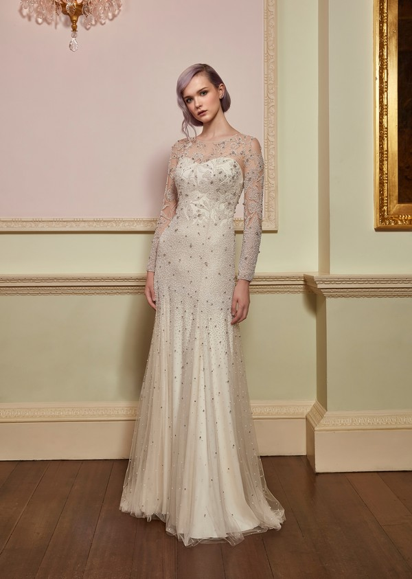 Desire Wedding Dress from the Jenny Packham 2018 Bridal Collection