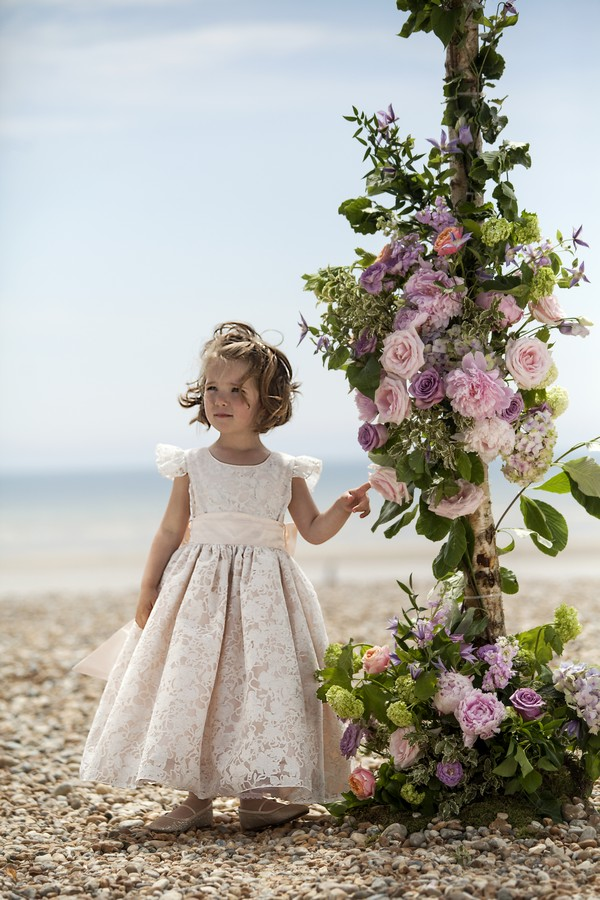 Emma Flower Girl/Bridesmaid Dress from the Nicki Macfarlane Spring/Summer 2018 Collection