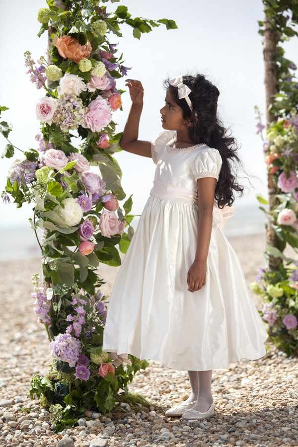 Felicity Flower Girl/Bridesmaid Dress from the Nicki Macfarlane Spring/Summer 2018 Collection