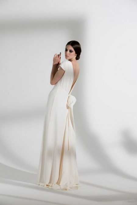 Back of Fern Wedding Dress from the Halfpenny London The Garden After the Rain 2018 Bridal Collection