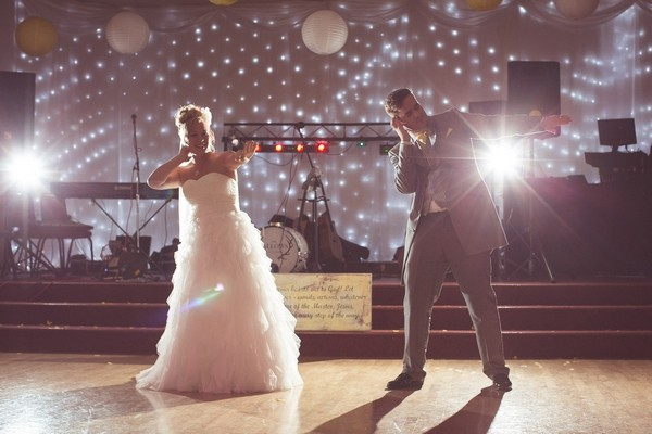 Couple's First Dance Routine at Wedding