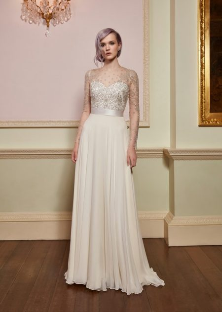 Fortune Top with Romance Skirt from the Jenny Packham 2018 Bridal Collection