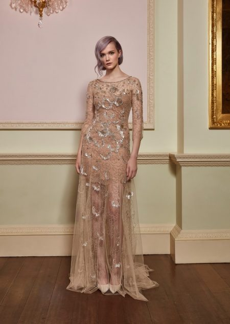 Freedom Wedding Dress in Illusion from the Jenny Packham 2018 Bridal Collection