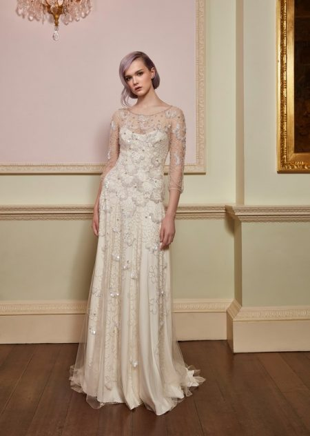 Freedom Wedding Dress in Ivory from the Jenny Packham 2018 Bridal Collection
