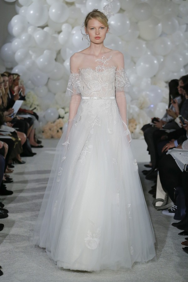 Gala Wedding Dress from the Mira Zwillinger Over the Rainbow 2018 Bridal Collection