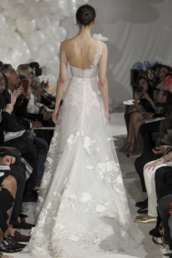 Back of Gerland Wedding Dress from the Mira Zwillinger Over the Rainbow 2018 Bridal Collection