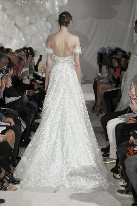 Back of Gigi Wedding Dress from the Mira Zwillinger Over the Rainbow 2018 Bridal Collection