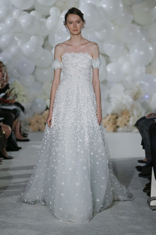 Gigi Wedding Dress from the Mira Zwillinger Over the Rainbow 2018 Bridal Collection