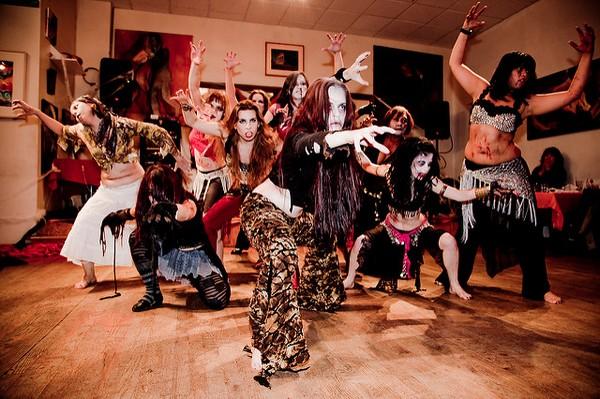Halloween Dancers