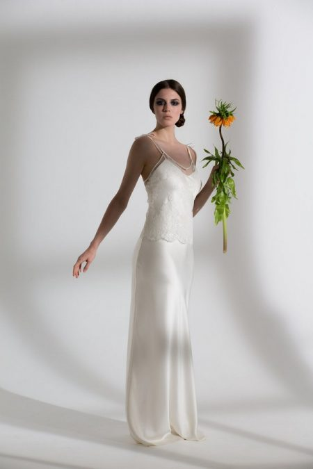 Heather Top with Iris Slip from the Halfpenny London The Garden After the Rain 2018 Bridal Collection