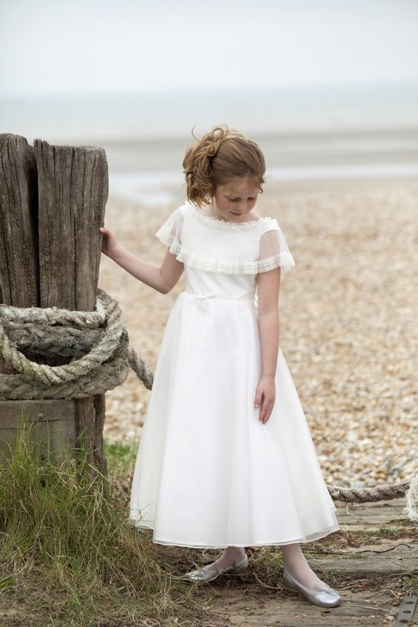 Helena Flower Girl/Bridesmaid Dress from the Nicki Macfarlane Spring/Summer 2018 Collection
