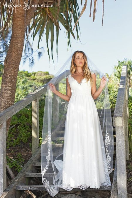 Holly Wedding Dress from the Shanna Melville 2018 Bridal Collection