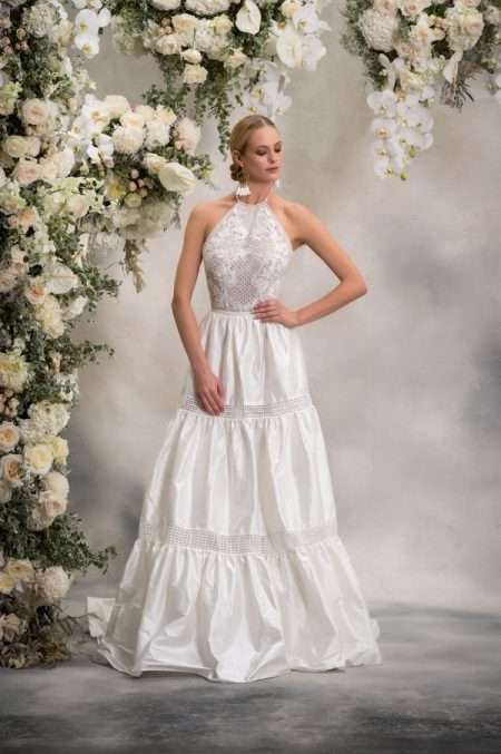 Honey Top with Lizzie Skirt from the Anna Georgina Inca Lily 2018 Bridal Collection