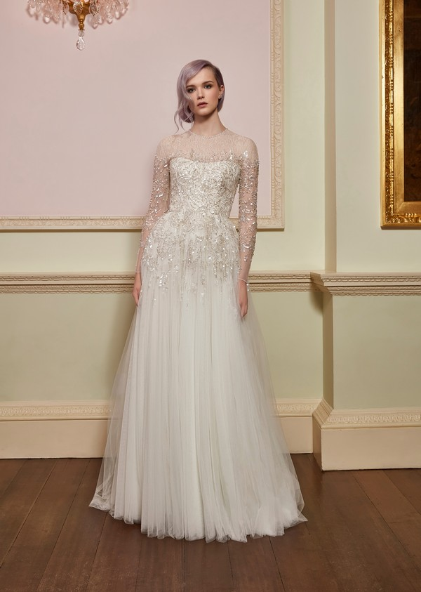 Honour Wedding Dress from the Jenny Packham 2018 Bridal Collection
