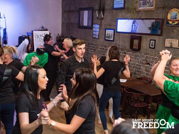 Irish Dance Party Hen Party Activity in Dublin
