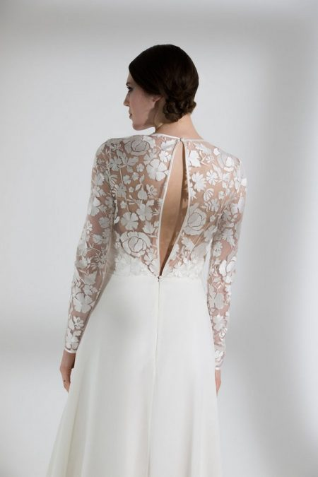 Back of Jasmin Wedding Dress from the Halfpenny London The Garden After the Rain 2018 Bridal Collection