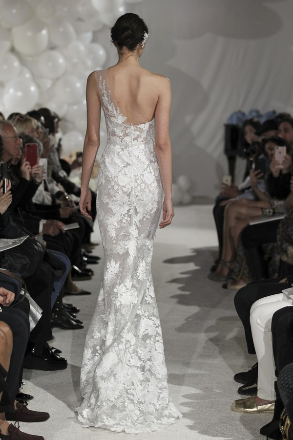 Back of Joelle Wedding Dress from the Mira Zwillinger Over the Rainbow 2018 Bridal Collection