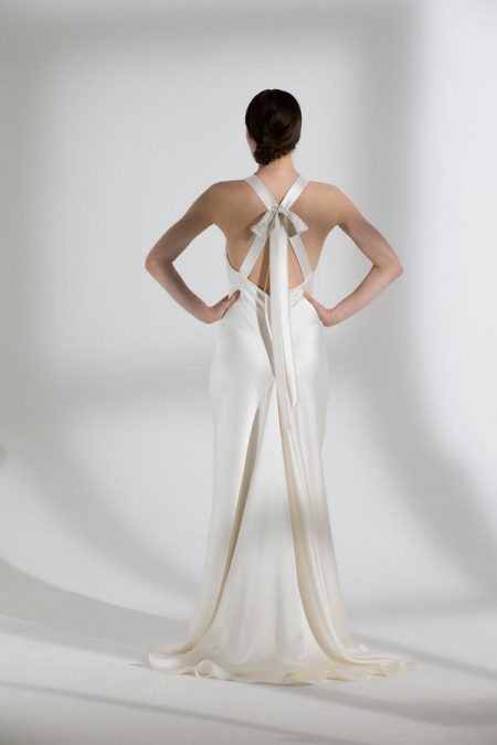 Back of Juniper Wedding Dress from the Halfpenny London The Garden After the Rain 2018 Bridal Collection