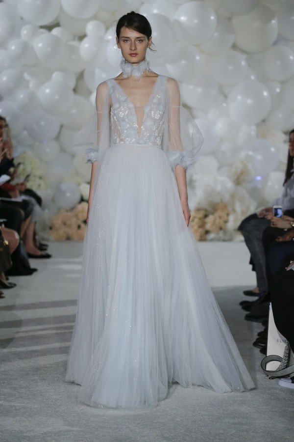 Korra Wedding Dress from the Mira Zwillinger Over the Rainbow 2018 Bridal Collection