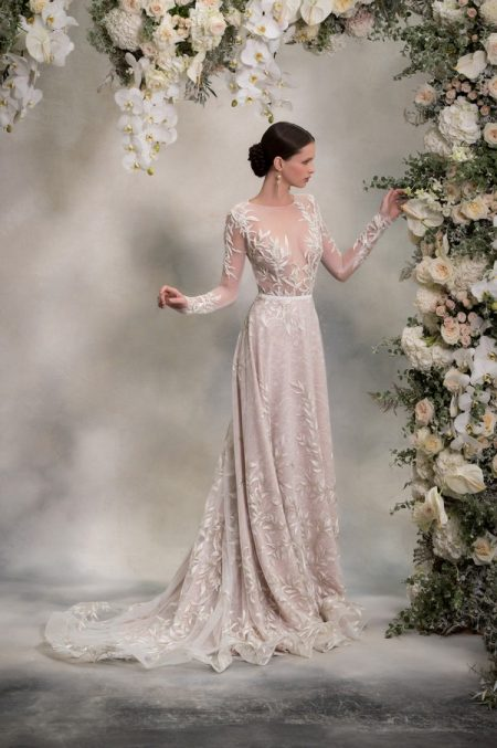 Louise Top and Skirt from the Anna Georgina Inca Lily 2018 Bridal Collection