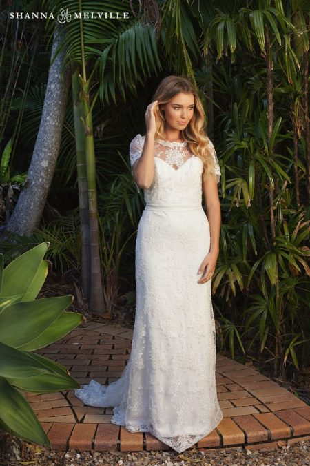 Mabel Wedding Dress from the Shanna Melville 2018 Bridal Collection