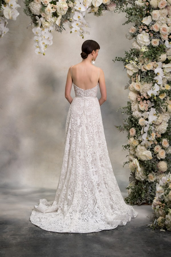 Back of Madison Wedding Dress from the Anna Georgina Inca Lily 2018 Bridal Collection