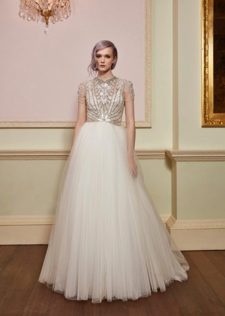 Magic Top with Magia Skirt from the Jenny Packham 2018 Bridal Collection