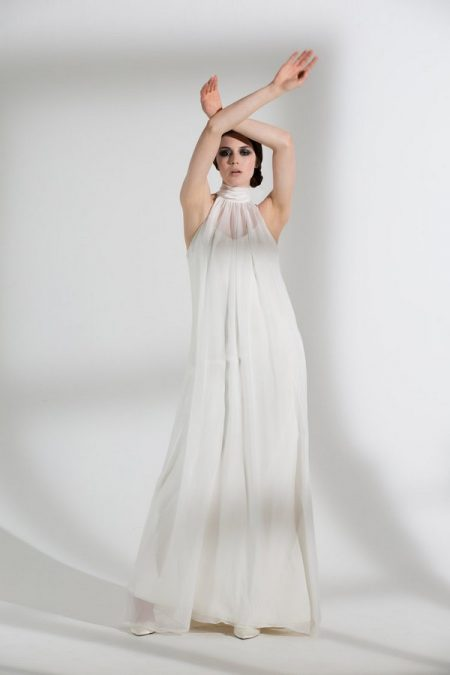 Magnolia Wedding Dress with Iris Slip from the Halfpenny London The Garden After the Rain 2018 Bridal Collection