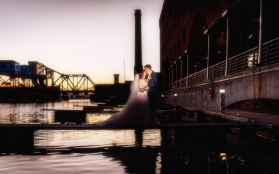 A Rustic Themed Wedding at the Titanic Hotel Liverpool