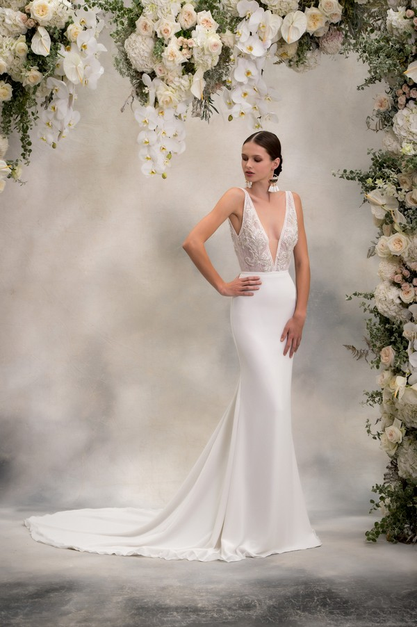 Maria Top with Lani Skirt from the Anna Georgina Inca Lily 2018 Bridal Collection