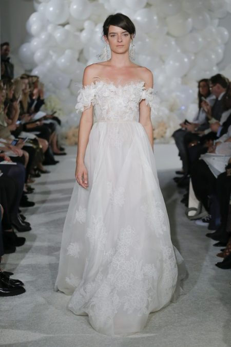 Melona Wedding Dress from the Mira Zwillinger Over the Rainbow 2018 Bridal Collection