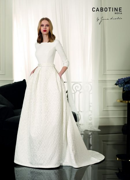 Metz Wedding Dress from the Cabotine 2018 Bridal Collection