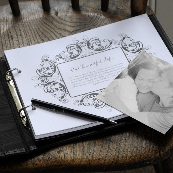 My Gorgeous Groom Journal - Our Beautiful Life Page