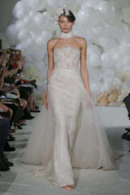 Naya Wedding Dress from the Mira Zwillinger Over the Rainbow 2018 Bridal Collection