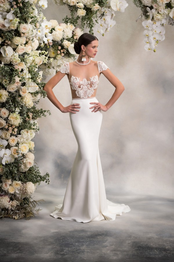Paige Top with Sephora Skirt from the Anna Georgina Inca Lily 2018 Bridal Collection