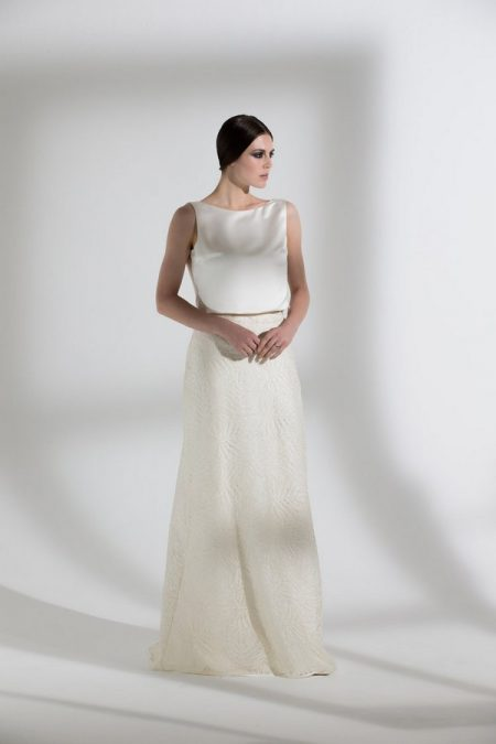 Palma Skirt with Rafe Top from the Halfpenny London The Garden After the Rain 2018 Bridal Collection
