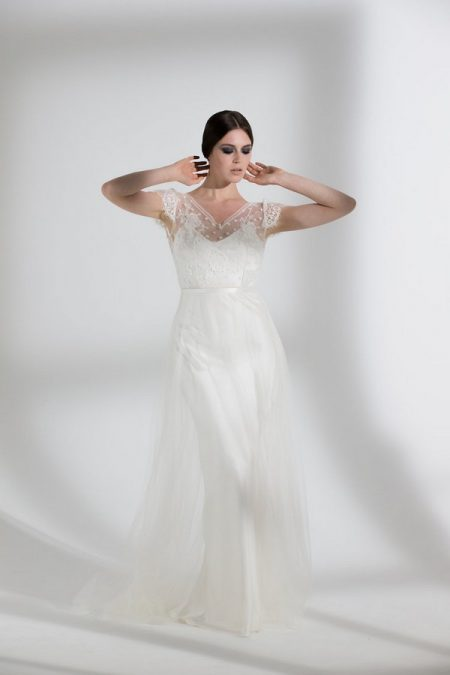 Peony Tulle Wedding Dress with Iris Slip from the Halfpenny London The Garden After the Rain 2018 Bridal Collection