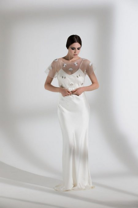 Posey Top with Iris Slip from the Halfpenny London The Garden After the Rain 2018 Bridal Collection