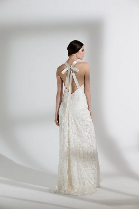 Back of Primrose Wedding Dress from the Halfpenny London The Garden After the Rain 2018 Bridal Collection