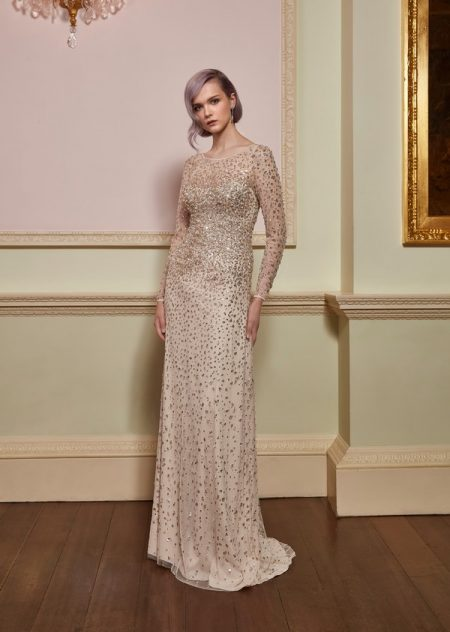 Rapture Wedding Dress in Barley from the Jenny Packham 2018 Bridal Collection