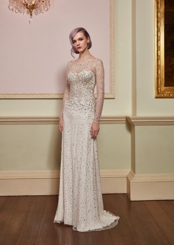 Rapture Wedding Dress in Ivory from the Jenny Packham 2018 Bridal Collection