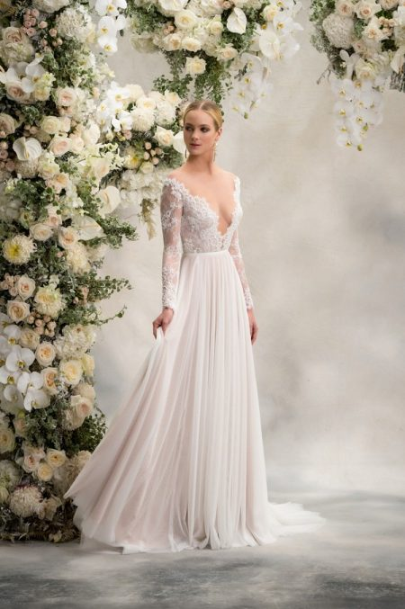 Reeva Top with Delphine Skirt from the Anna Georgina Inca Lily 2018 Bridal Collection