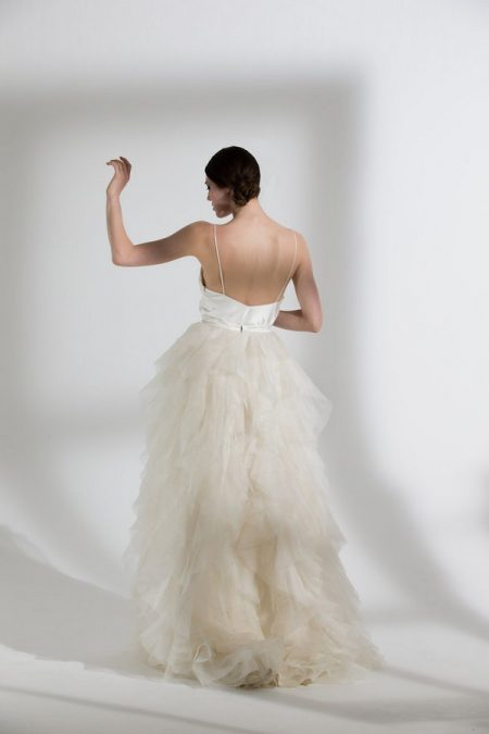 Back of Riri Wedding Dress from the Halfpenny London The Garden After the Rain 2018 Bridal Collection