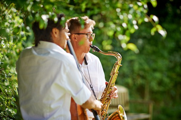 Saxophonist at Playing Wedding
