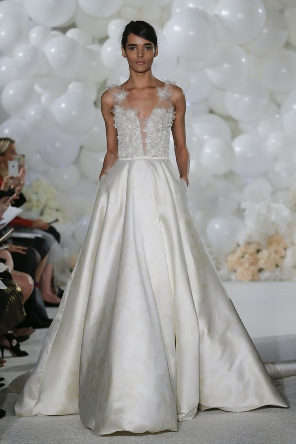 Serafina Wedding Dress from the Mira Zwillinger Over the Rainbow 2018 Bridal Collection