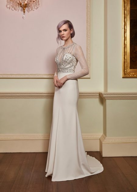 Serenity Wedding Dress from the Jenny Packham 2018 Bridal Collection